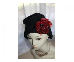 ciuffo flower black-in red