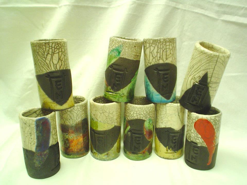 oggettistica in ceramica raku
