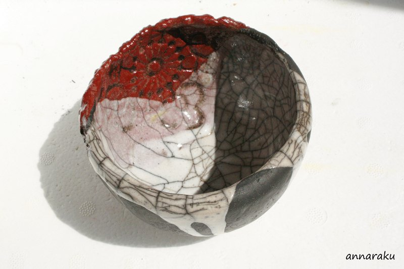 ciotola ceramica raku