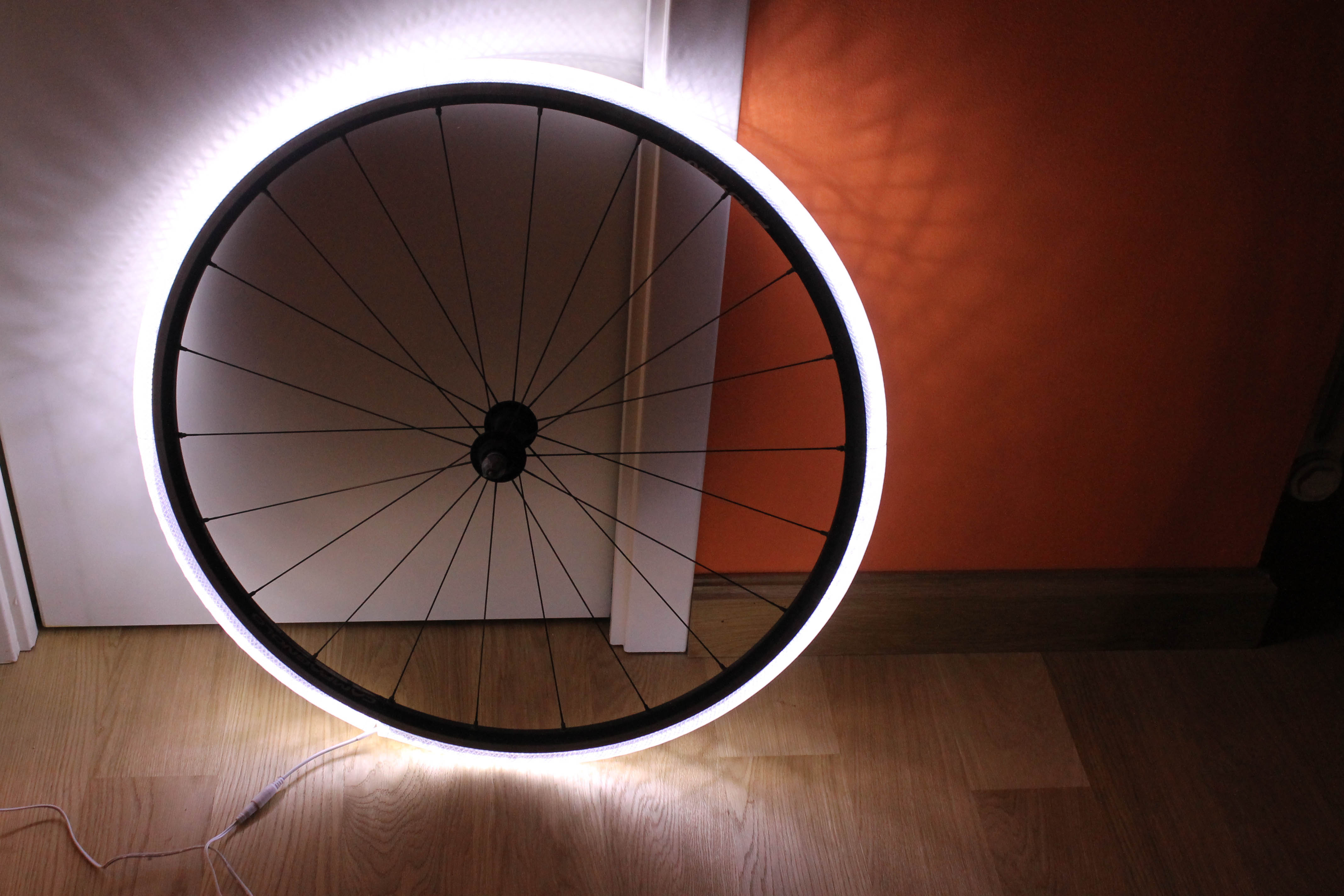 Lampada LED Cerchione di Bicicletta