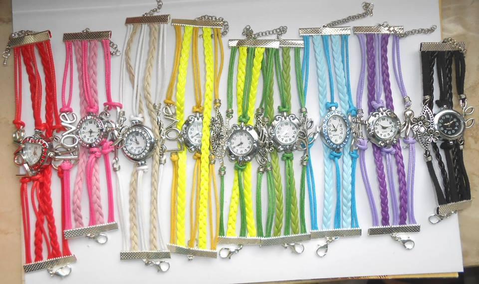 Multibracciali con orologio
