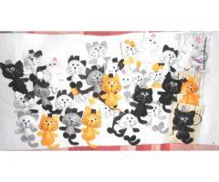 Gattini portachiavi in pannolenci