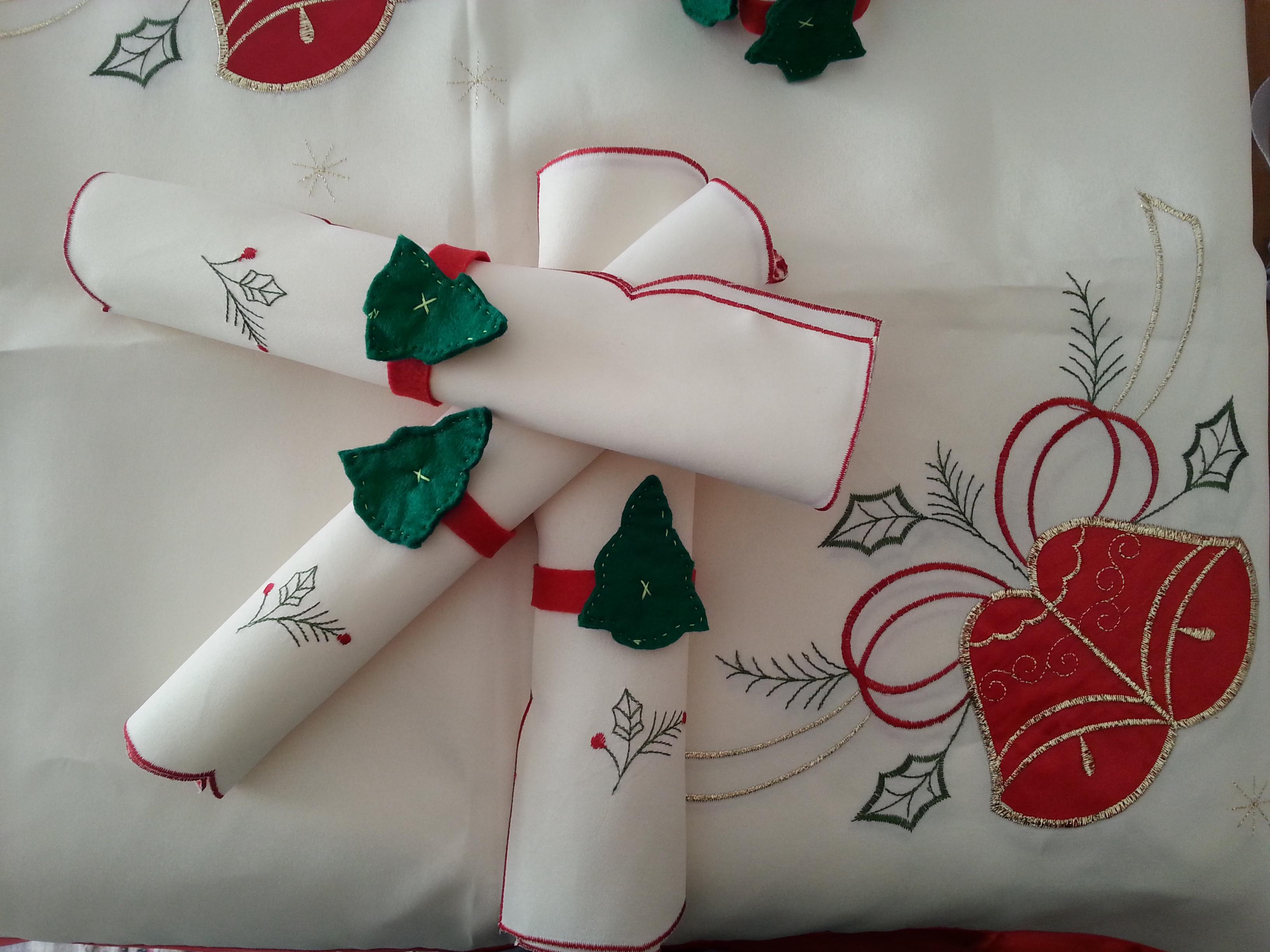 Portatovagliolo Natale