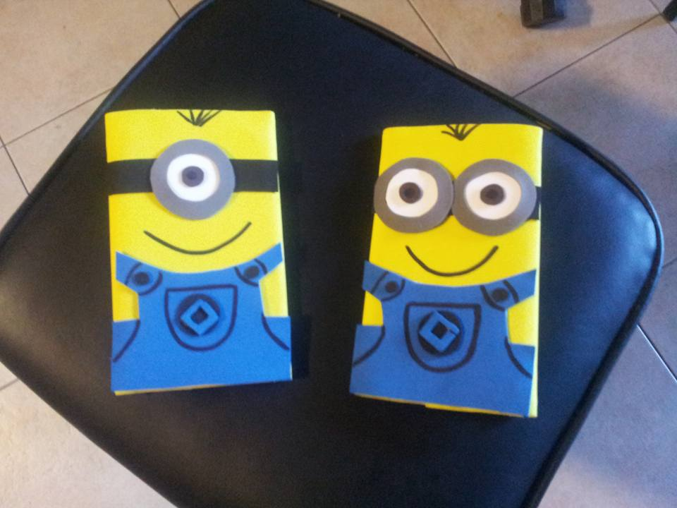 porta tablet in fommy I MINIONS
