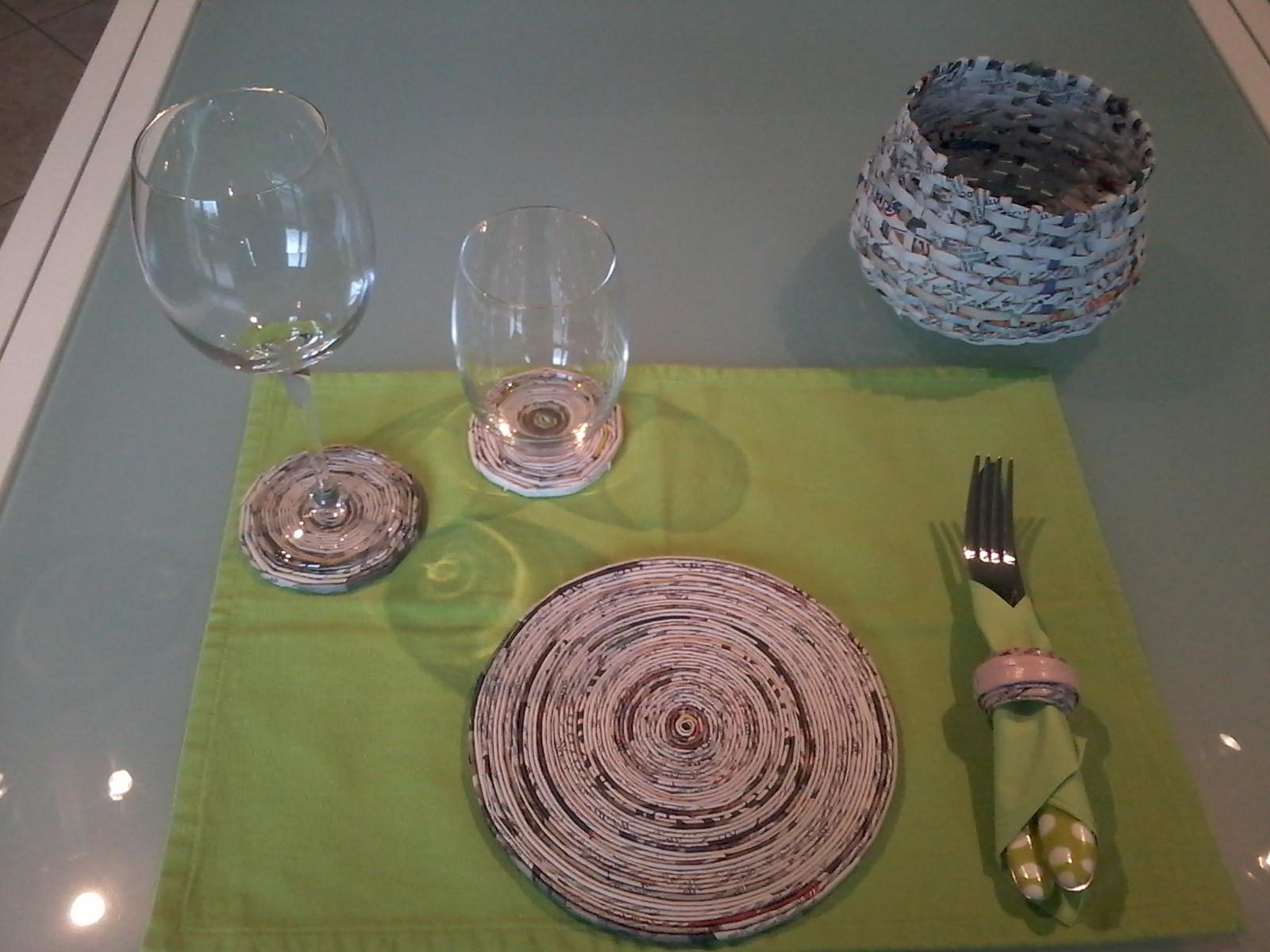 set da tavola per due persone