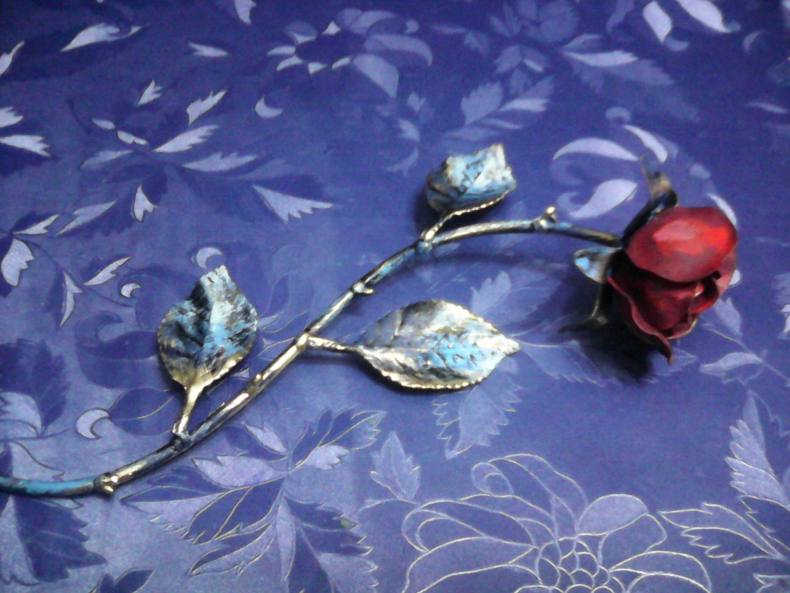 Rosa in ferro