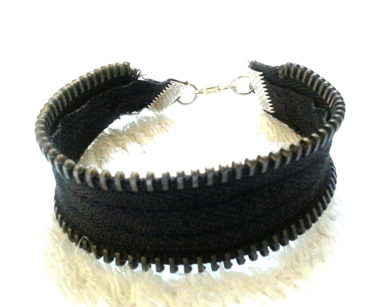 bracciale zip