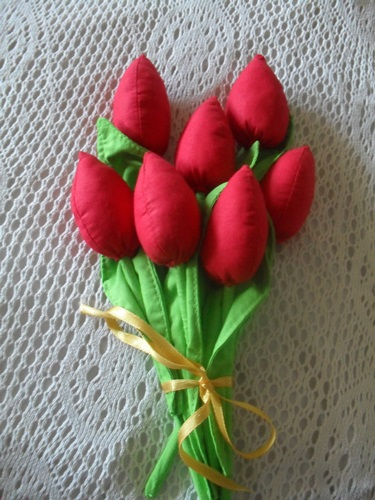 Tulipani fatti a mano