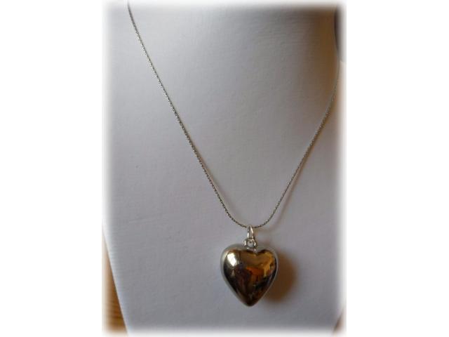 Collane catena cobra e ciondolo cuore