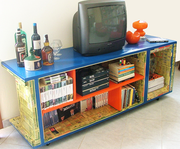 Mobile TV / Libreria (Personalizzabile)