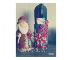 Porta bottiglia Natalizia