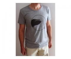 T-shirt Uomo Serie Oblò - Balena